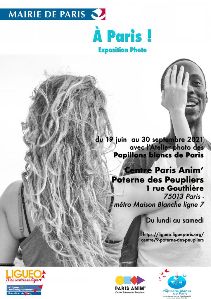 Exposition photo au centre Paris anim' Poterne des Peupliers